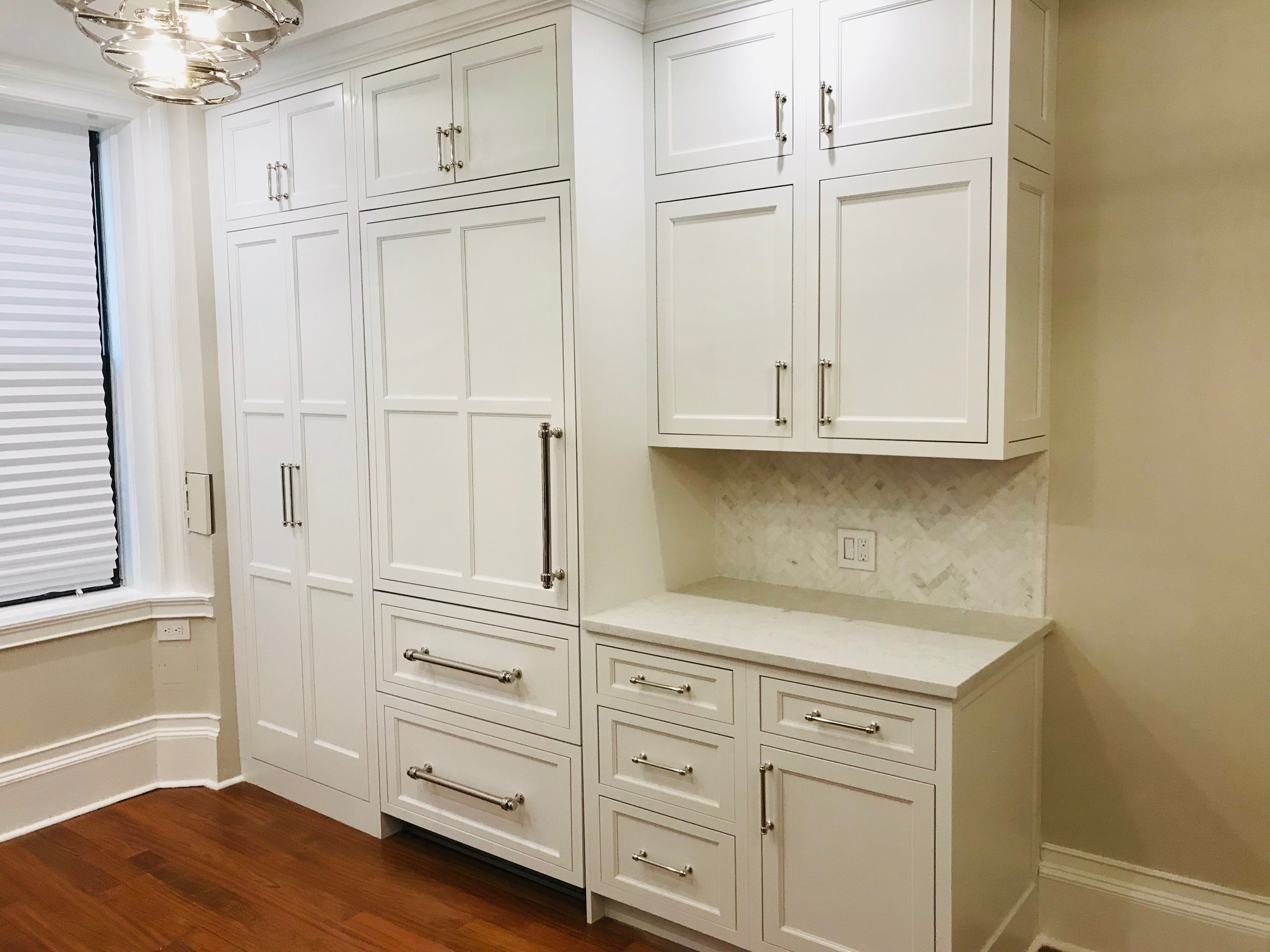 Custom refrigerator panels using starmark inset