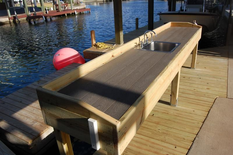 Cleaning Table Fish Cleaning Table Lakefront Living Fish Cleaning Station