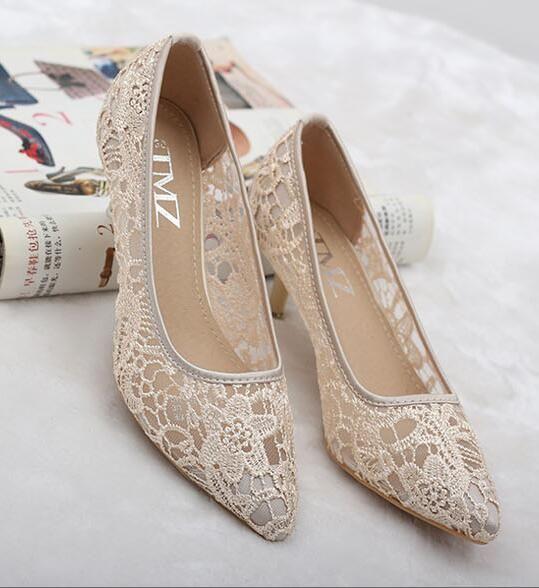Ivory See Through Low Heels Wedding Shoes Bridal Low Heels Ivory Wedding Shoes Bridal Shoes Wedding Shoes Lace Wedding Shoes Heels Ivory Shoes Low Heel