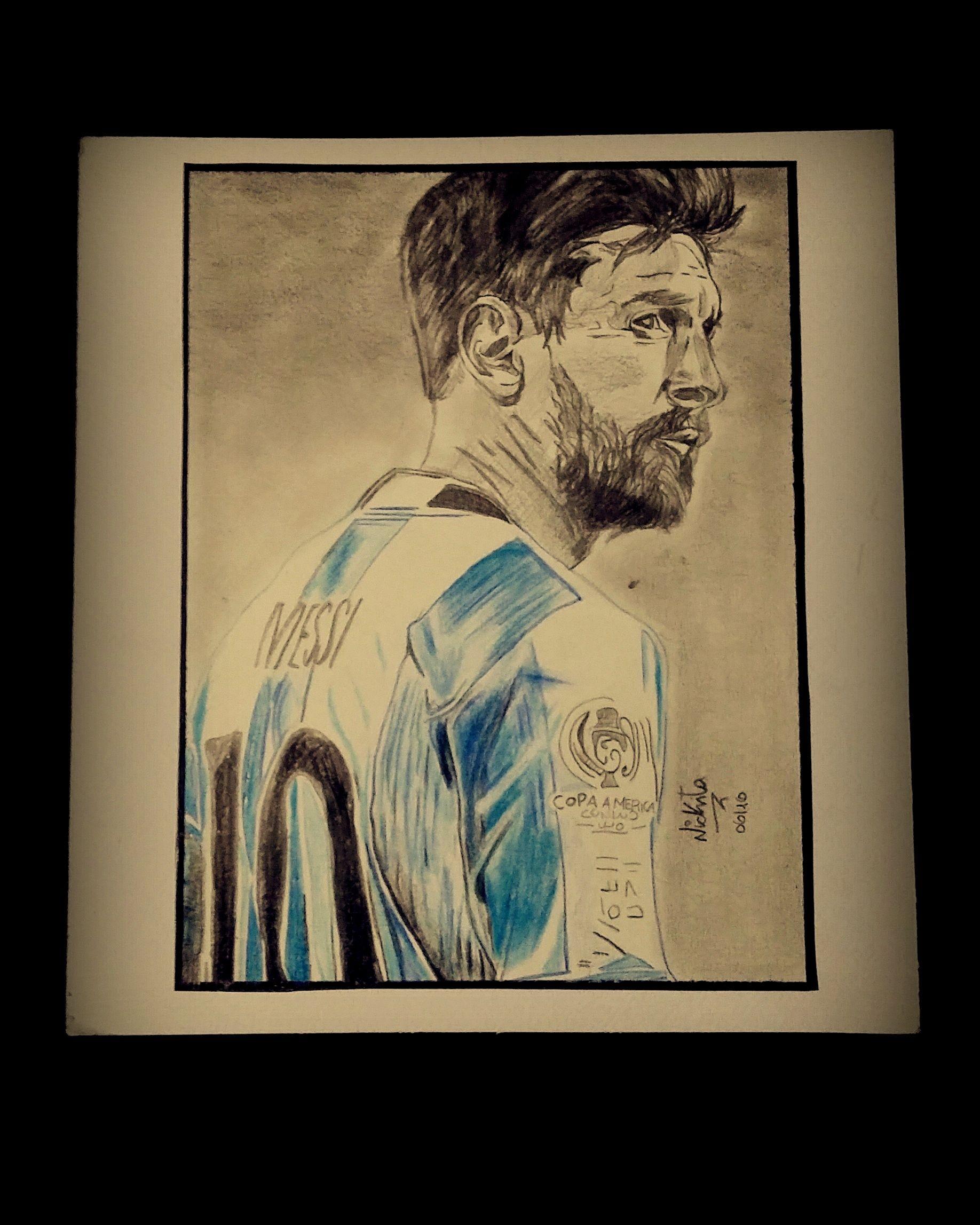 Nickita Photography  Art Dibujos  Drawings Obra Lionel Messi