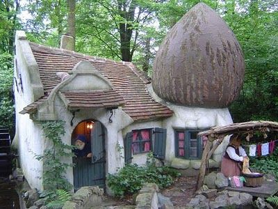 Fairy Tale Houses In Real World Foreste Casette Architettura