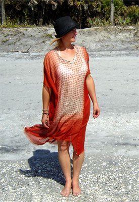 Strandkleid nähen   Kleidung nähen, Strandkleid, Frauenkleider
