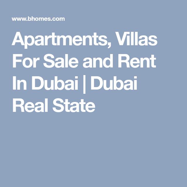 Cheap Apartments For Rent Dubai: Apartments, Villas For Sale And Rent In Dubai
