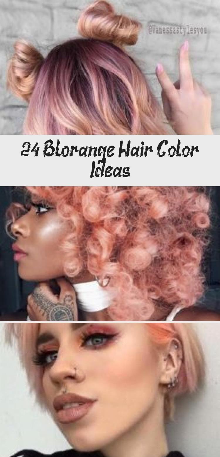 24 Blorange Hair Color Ideas  #blonde #highlights #Blorange #Hair #Colors - #blonde #blorange #color #colors #highlights #ideas -  24 Blorange Hair Color Ideas  #blonde #highlights #Blorange #Hair #Colors    Dyed Hair 24 Ideen für die Haarfarbe von Blorange  #blond #highlights #Blorange #Haar #Farben