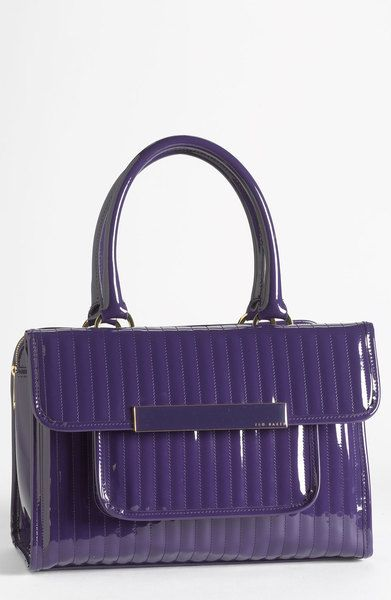 816f5db056 Ted Baker Purple Mardun Satchel