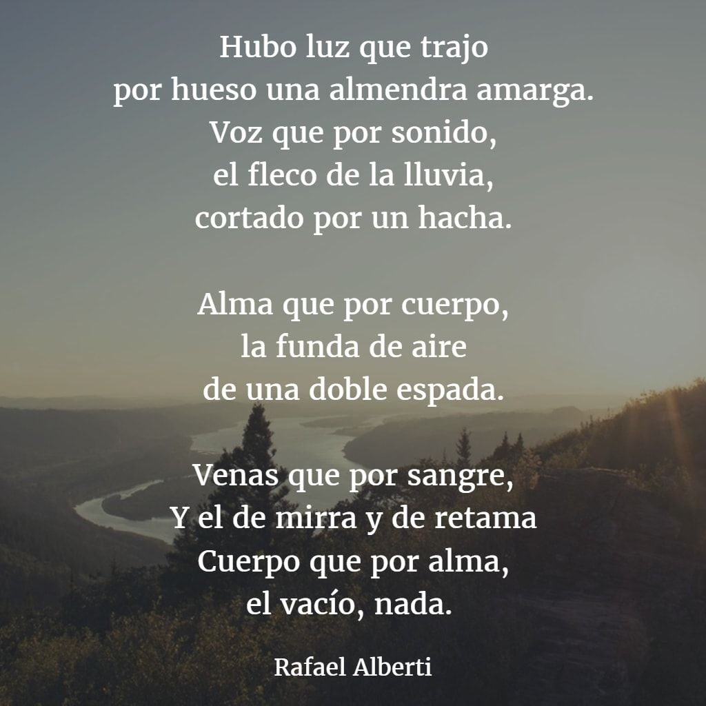 Versos De Libros: Rafael Alberti