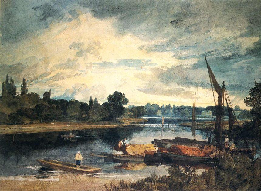 Peter De Wint Watercolour William Turner Mallord Joseph
