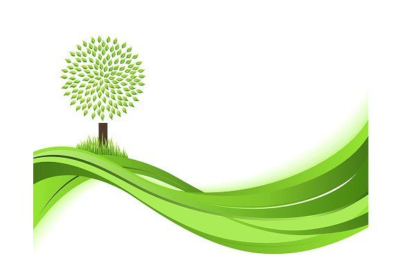 Green Nature Background Green Nature Nature Backgrounds Nature Vector