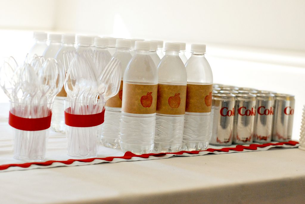 Baby Shower Themed Drinks ~ School themed baby shower themed baby showers back to and minis