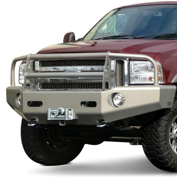 Buckstop Classic I Full Width Front Winch Hd Bumper With Grille Guard Winch Grilles Winch Bumpers