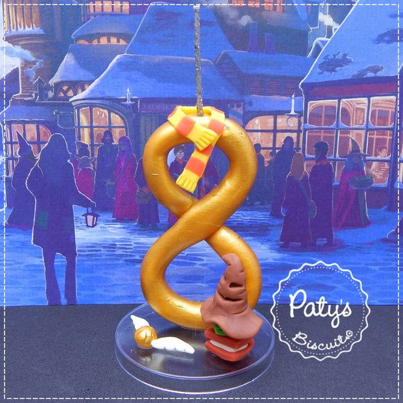 Vela decorada Harry Potter
