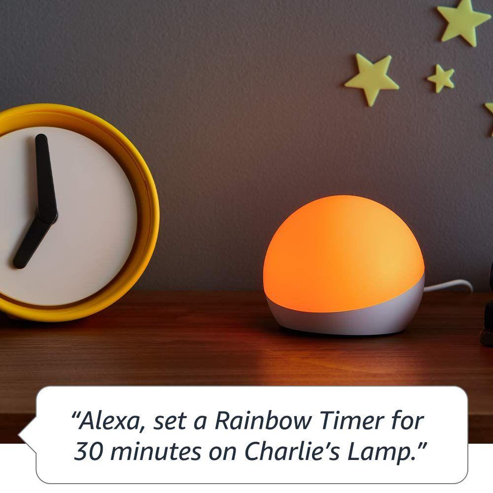 Amazon Alexa Product Echo Glow Alexa Device Unique Gadgets Glow