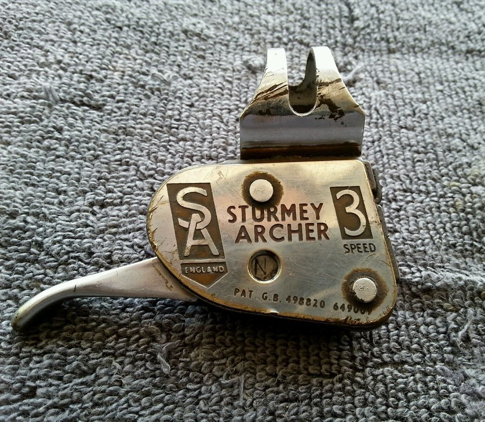 Vintage bicycle 3speed shifter lever