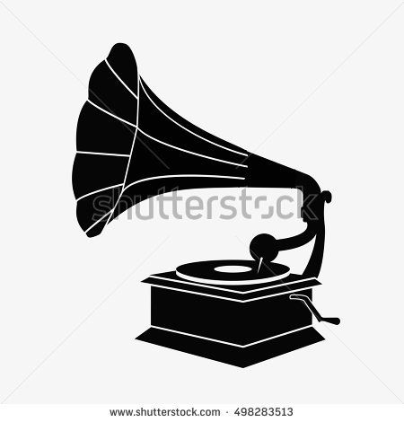 old gramophone silhouette flat vector stock illustration gramophone sign gramophone icon gramophone illustration gramop stock vector gramophone silhouette old gramophone silhouette flat vector