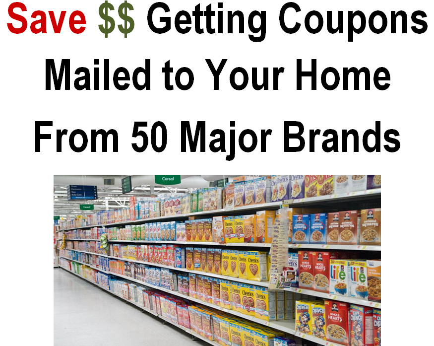 Mail me free coupons to my house