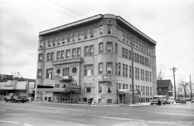 Algonquin Hotel Port Huron 1976 Rus Sawyer Photo Museum