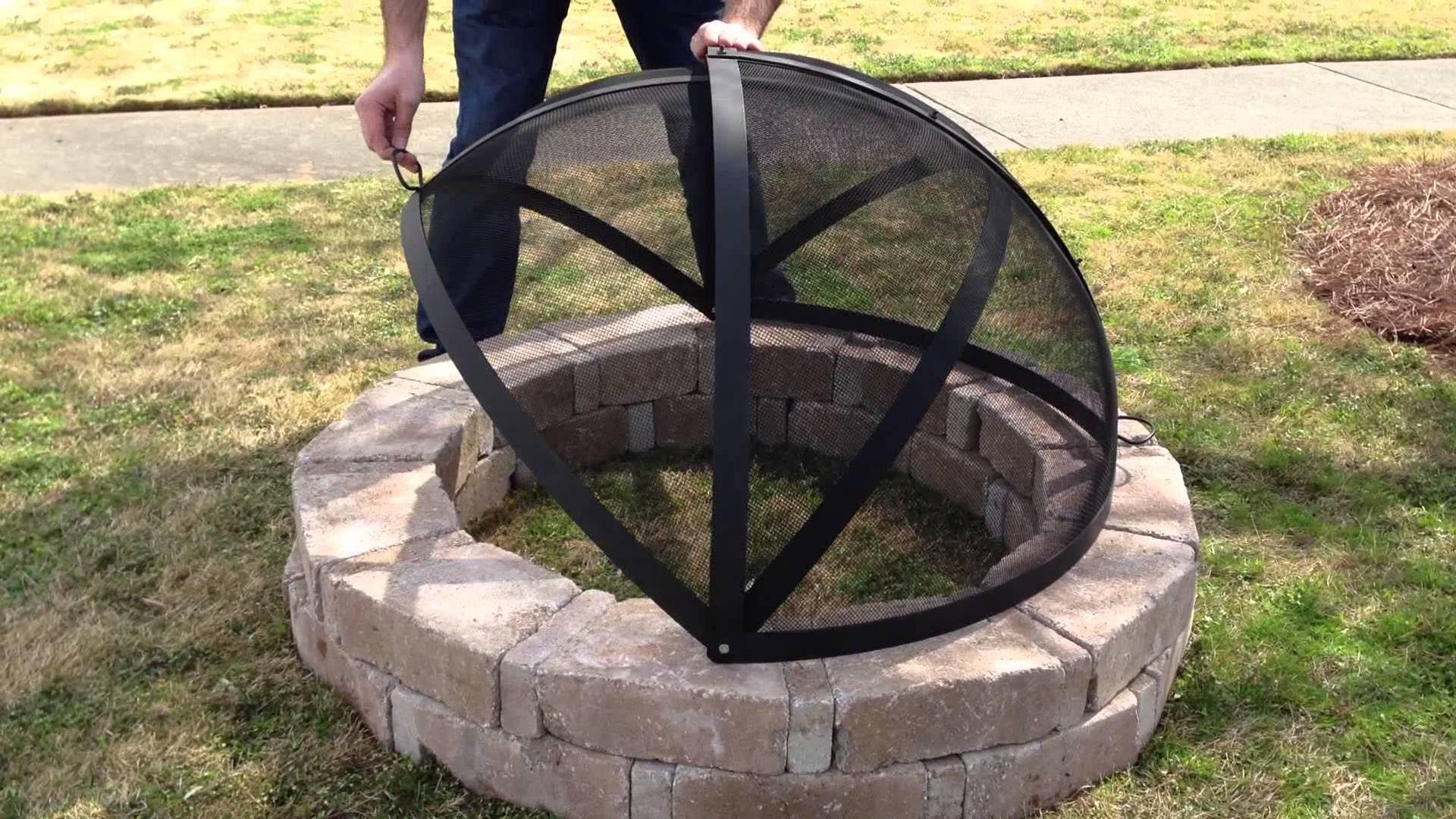 How to Make a Fire Pit Screen Fire pit screen, Make a