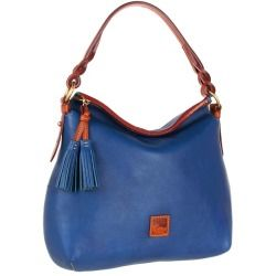 Sales Dooney and Bourke - Florentine Twist Strap Hobo (Ocean Blue) - Bags and Luggage online - Zappos is proud to offer the Dooney