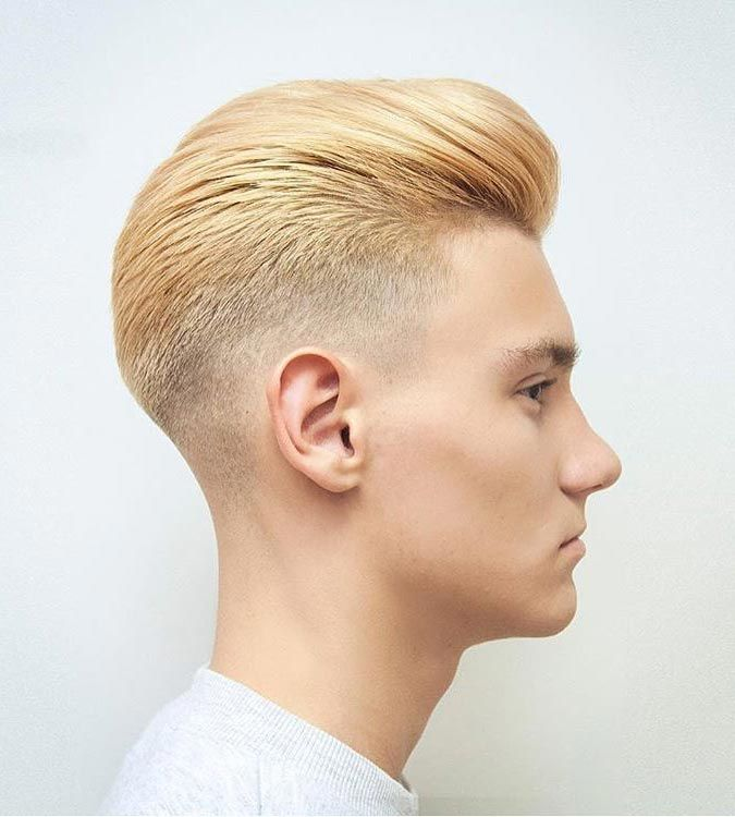 Blonde Pompadour Blonde Men Hairstyle Insider  Blonde