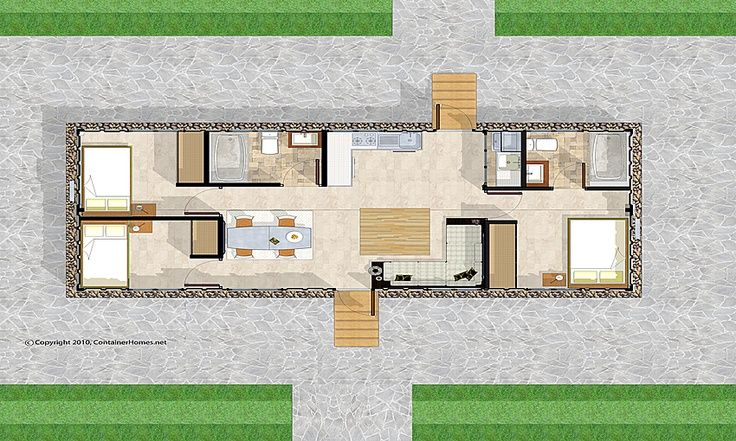 floor plans for container homes Buscar con Google FLOOR PLANS