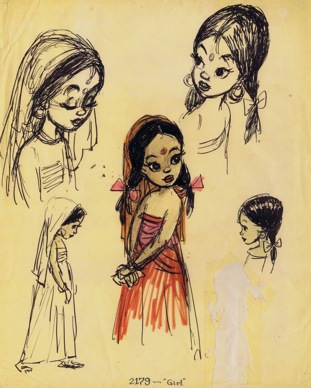 Shanti The Jungle Book Concept Art Pinterest Jungle Book Disney Disney Fan Art Disney Sketches