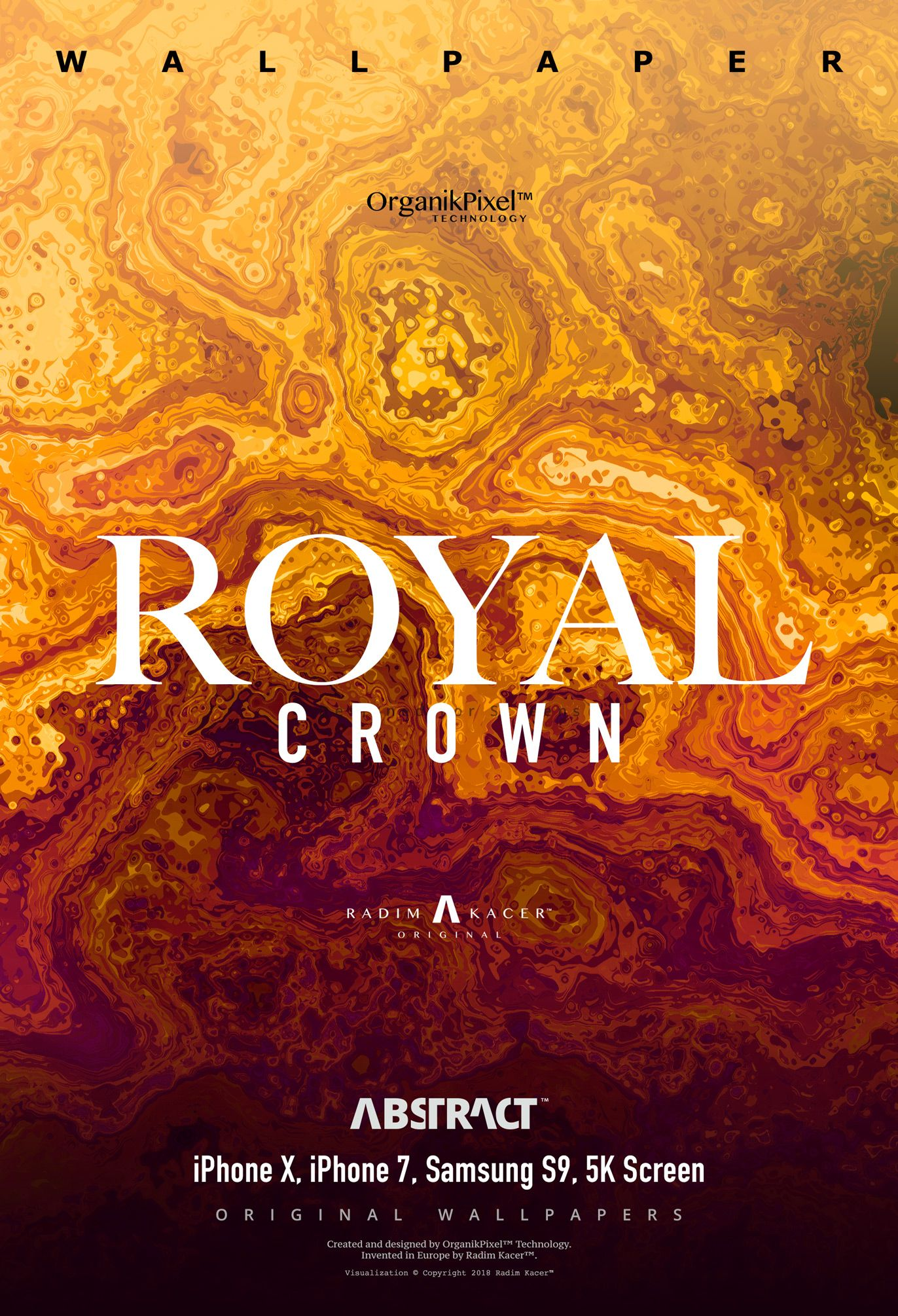 Royal Crown Original Abstract Wallpaper For 5k Screens And