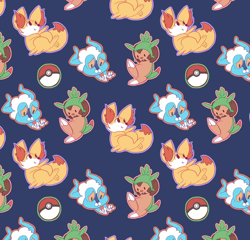 Pokemon Tiles Fondos