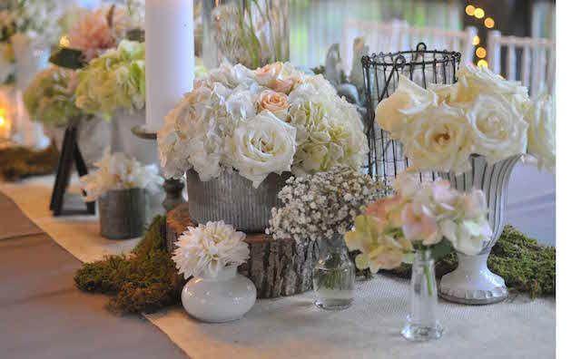 estilo vintage y rstico para decoracin de boda