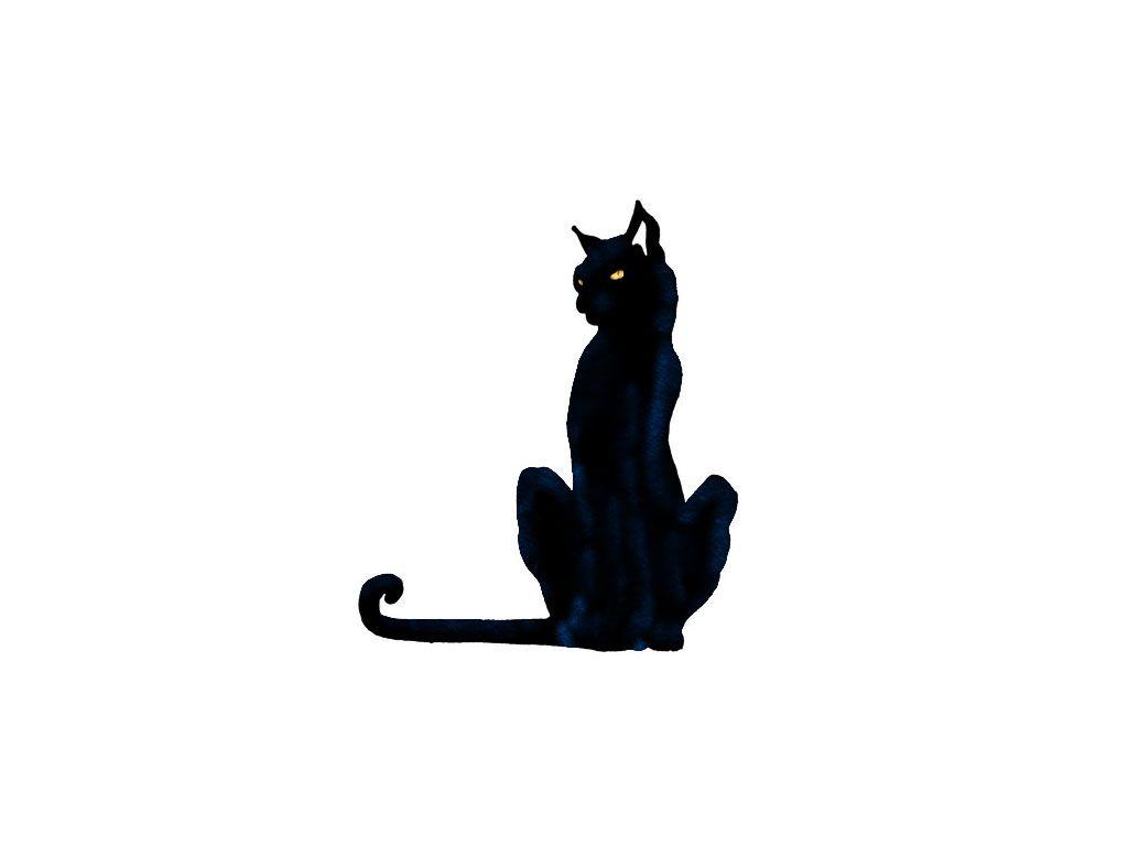 cat tattoo designs free designs black cat yellow eyes wallpaper kitty3 pinterest cat. Black Bedroom Furniture Sets. Home Design Ideas