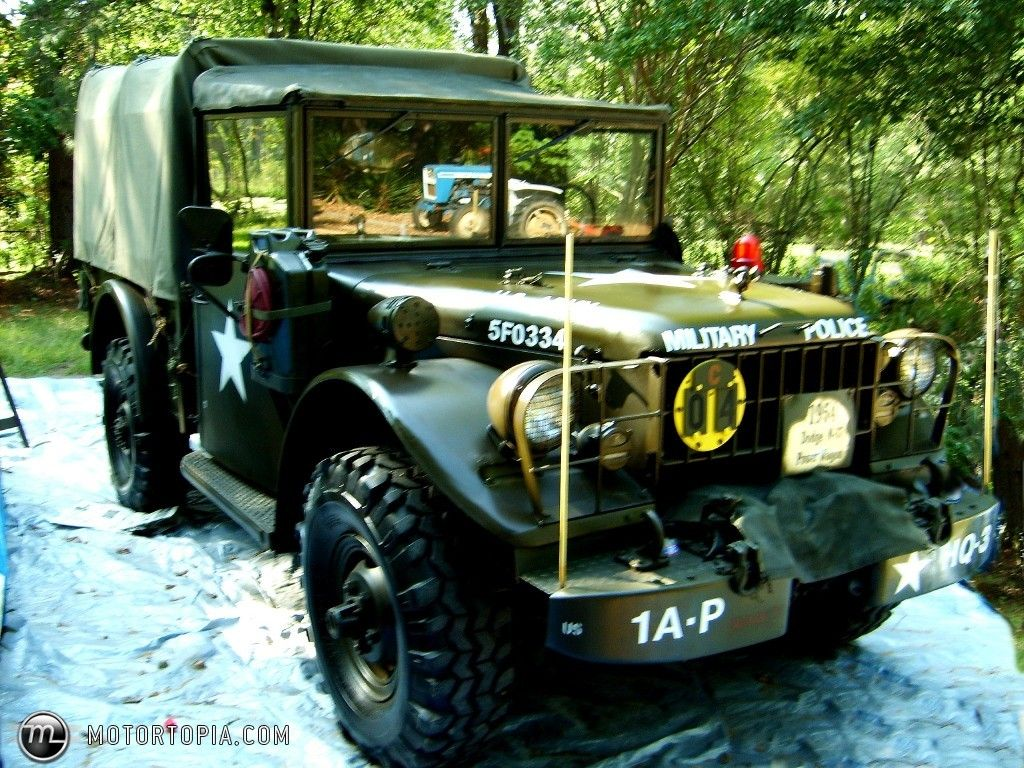 Dodge of 50's | From album '54 Dodge M37 Weapons Carrier (Power