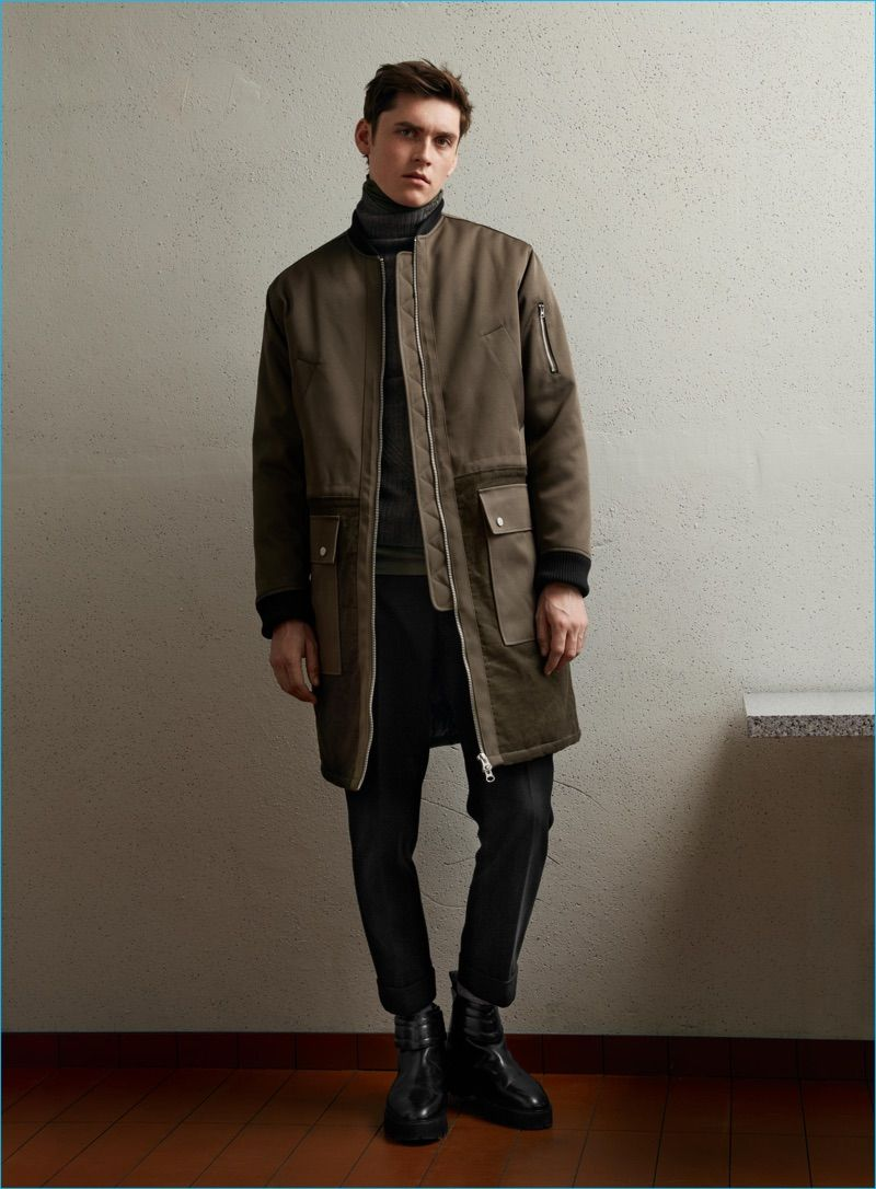 9c445b5b5 H&M Takes a Chic Turn for Fall Studio Collection | Men's Jackets ...