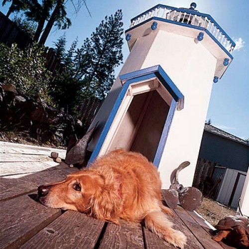 Lighthouse Dog House Cool Dog Houses Outdoor Dog House Dog Houses