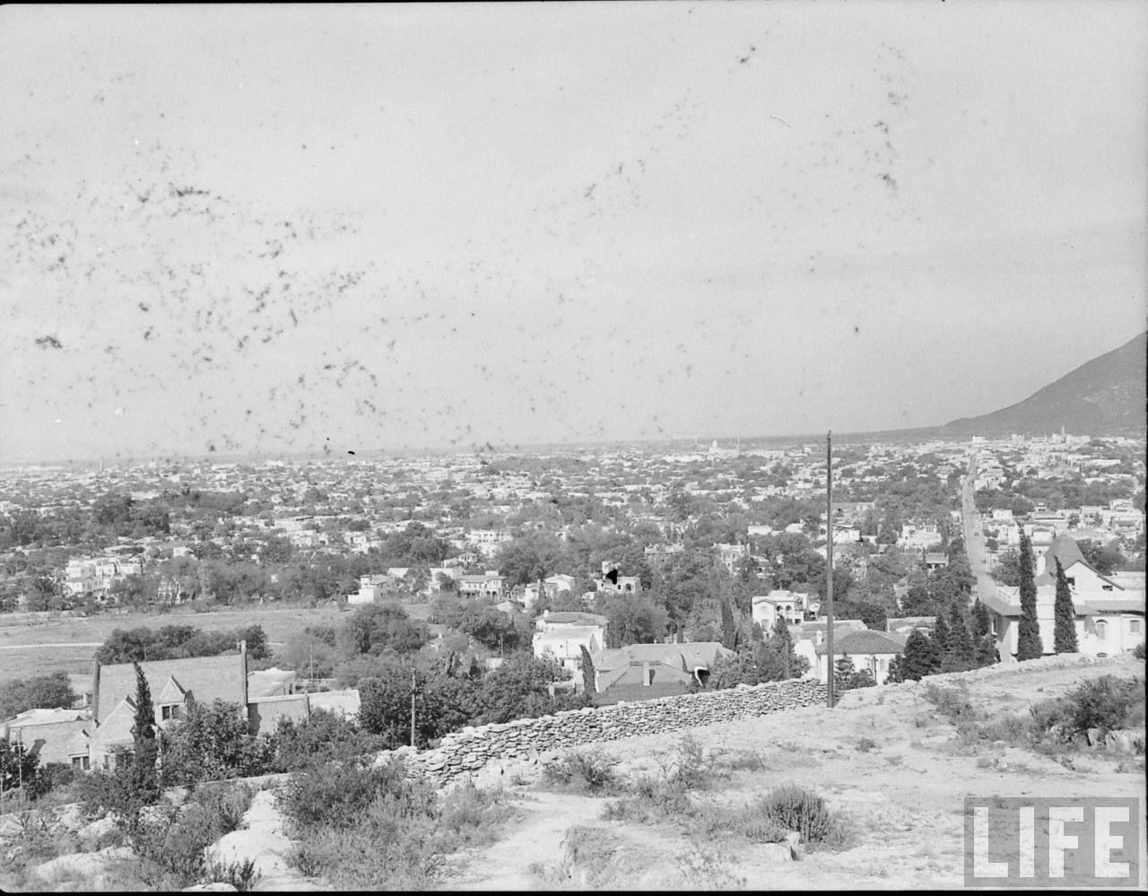 vista de monterrey 1940