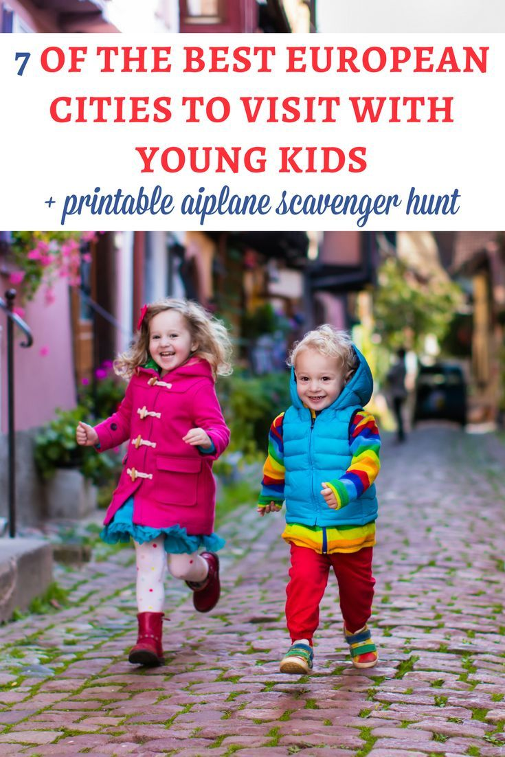 7 of the best European cities to visit with young kids | Pinterest ...