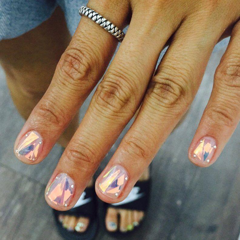 Cellophane nails | Nails | Pinterest | Manicure, Makeup and Nail nail