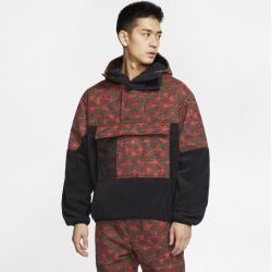 Nike Acg Fleece-Anorak für Herren – Schwarz Nike