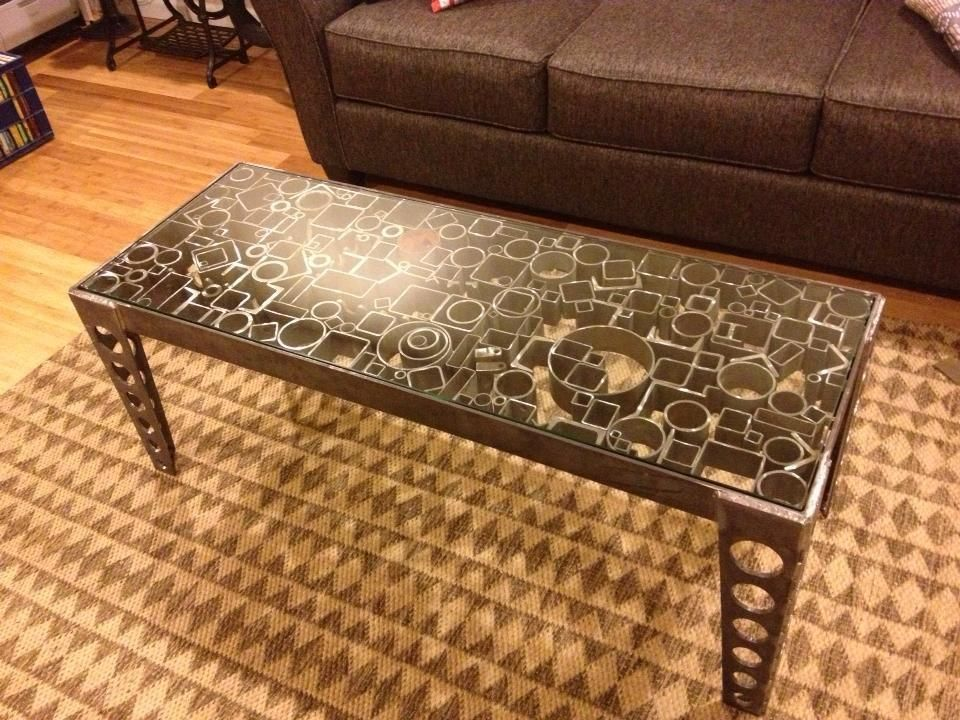 Pin By David Leny On Scrap Metal Table In 2020 Coffee Table Metal Table Table