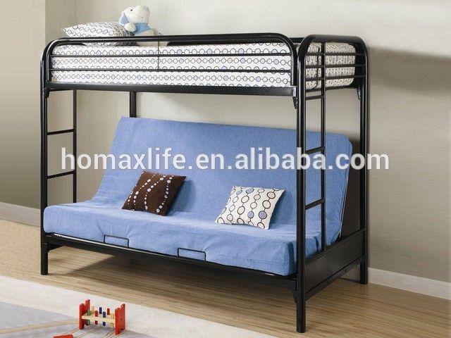 Source Bedroom Furniture Sofa Bed Double Deck Triple Metal Bunk On M