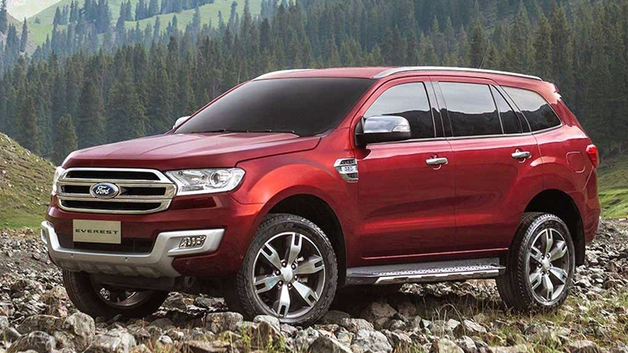 2018 Ford Everest Concept New Release Cars Picture Pinterest