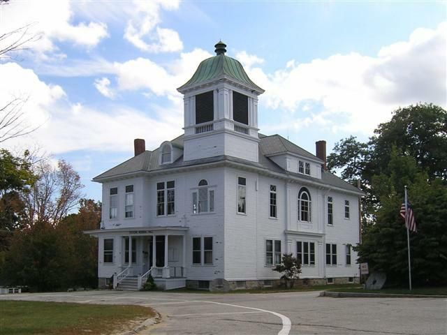 Stevens Memorial Hall House Styles New Hampshire Chester