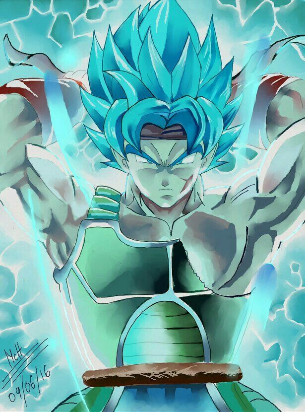 Bardock Super Saiyan Blue Extreme Power Dragon Ball