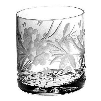 Majestic Crystal Victoria Crystal Double Old Fashioned Tumblers