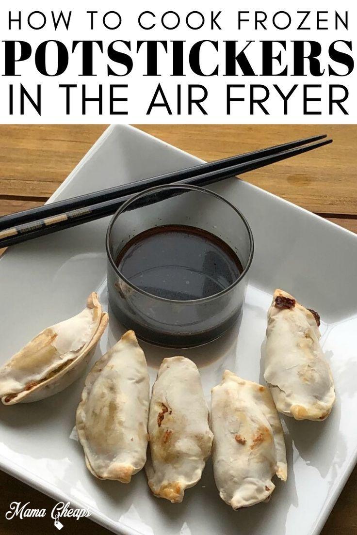 Frozen Potstickers Air Fryer Cook Time in 2020 Frozen