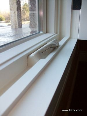 Notch To Accommodate Inside Mount Plantation Shutter With Casement Window