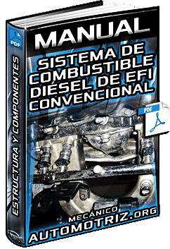 Manual: Sistema de Combustible Diésel de EFI Convencional – Estructura y Comp…