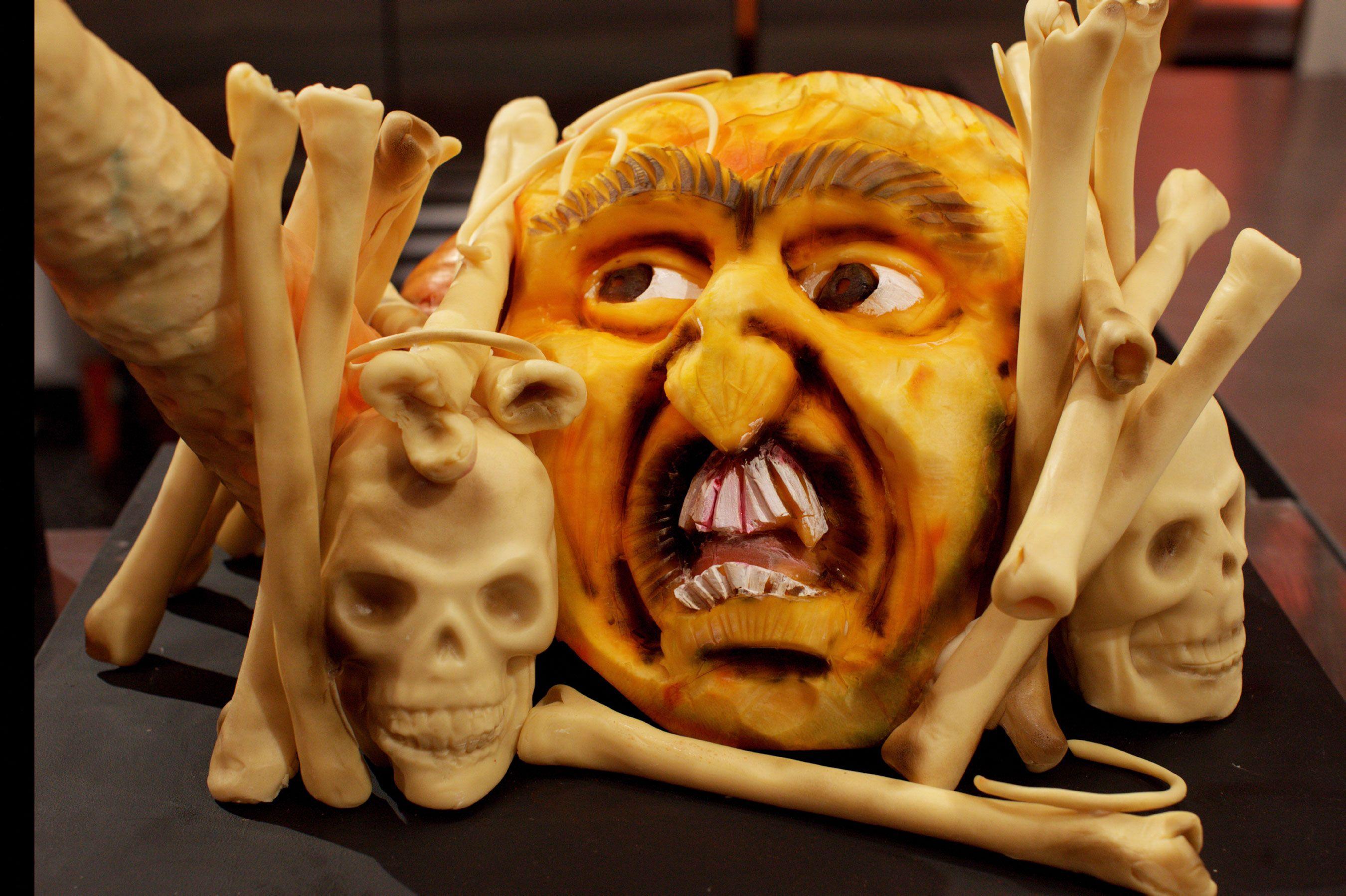 halloween display on food network's halloween wars | halloween in