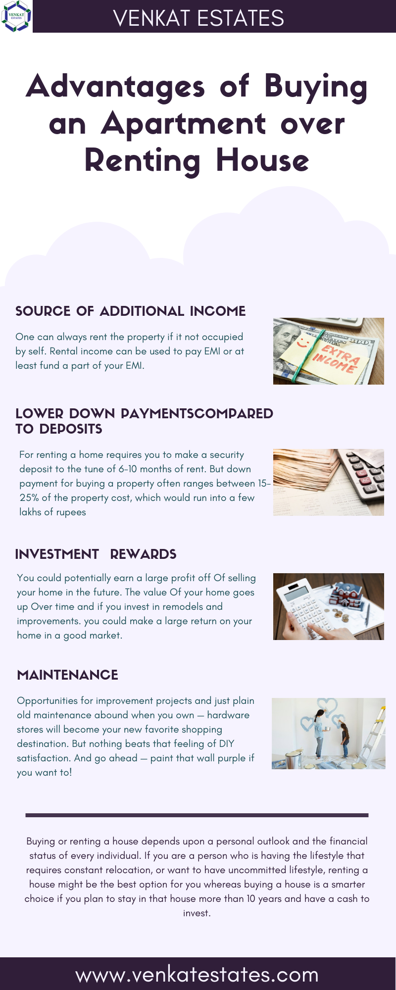 Buying An Apartmnet Vs Renting A House Best Apartments Near Kr Puram Cool Apartments Renting A House Rent