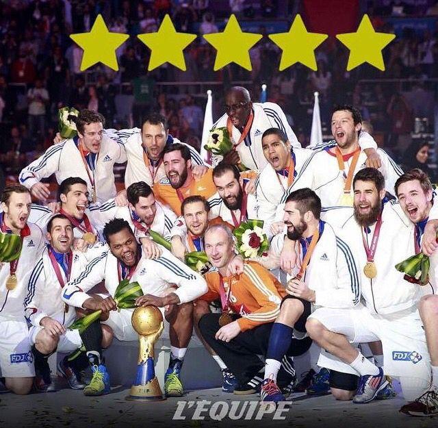 Champion du monde 2015 handball handball pinterest handball sportif et olympique - Coupe du monde 2015 handball ...