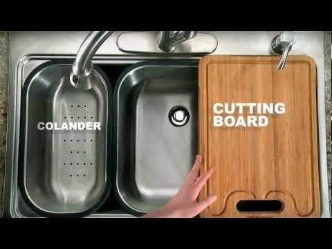 Make Food Prep And Cleanup A Cinch With The American Standard Multi Function Sink System Lowes Home Building A New Home Sink