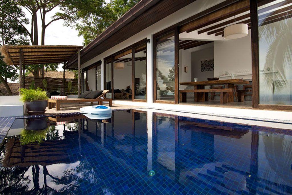 modern tropical villa pool design idea | Favorite Places & Spaces ...